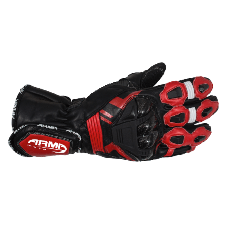 Armr Moto S870 Motorcycle Gloves Red