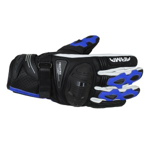 Armr Moto S880 Motorcycle Gloves Blue