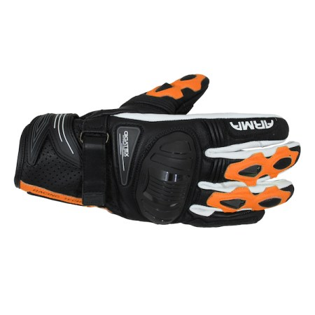 Armr Moto S880 Motorcycle Gloves Orange