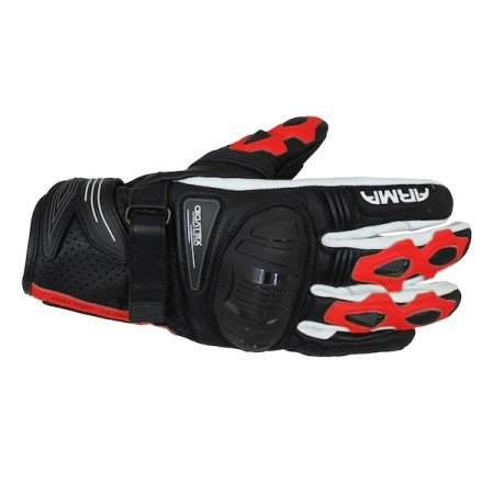 Armr Moto S880 Motorcycle Gloves Red