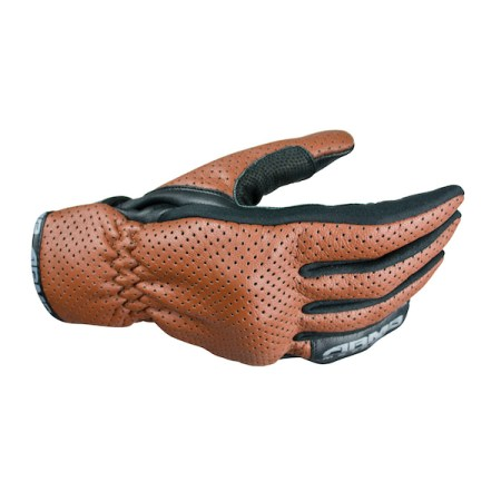 Armr Moto SHL435 Motorcycle Gloves - Brown