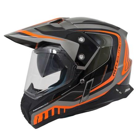 MT Synchrony Tourer Dual Sport Helmet - Orange