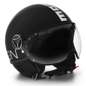 Momo Fighter Evo Motorcycle Helmet Matt Black