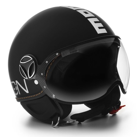 Momo Fighter Evo Motorcycle Helmet - Matt Black