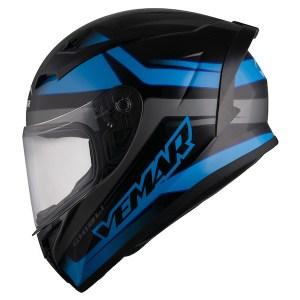Vemar Ghibli Base Motorcycle Helmet Blue