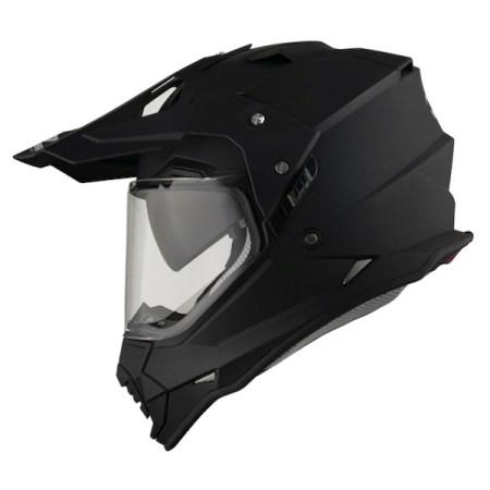 Vemar Kona Dual Sport Helmet - Matt Black