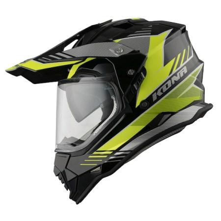 Vemar Kona Explorer Dual Sport Helmet - Yellow