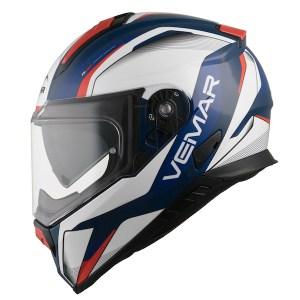 Vemar Zephir Lunar Motorcycle Helmet Deep Blue