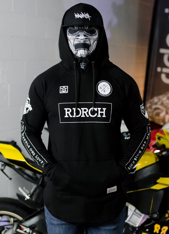 Ride Rich Mad Official Scoop Motorcycle Hoodie