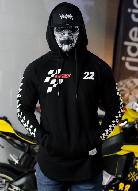 Ride Rich Moto RR Scoop Motorcycle Hoodie