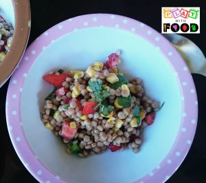 Pretty Salad   Cous Cous with Strawberries, Lime and Avocado by Play with Food