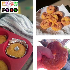 Baked Pumpkin and Honey Donuts   Play with Food