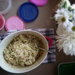 Baked Zucchini and Bacon Risotto by Play with Food