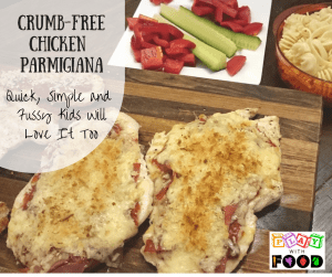 Crumb-Free Chicken Parmigiana for Fussy Eaters - Play with Food