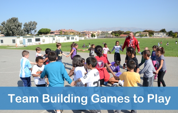 Team Building Games To Play Playworks