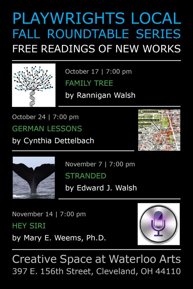 Fall Roundtable Series Playwrights Local