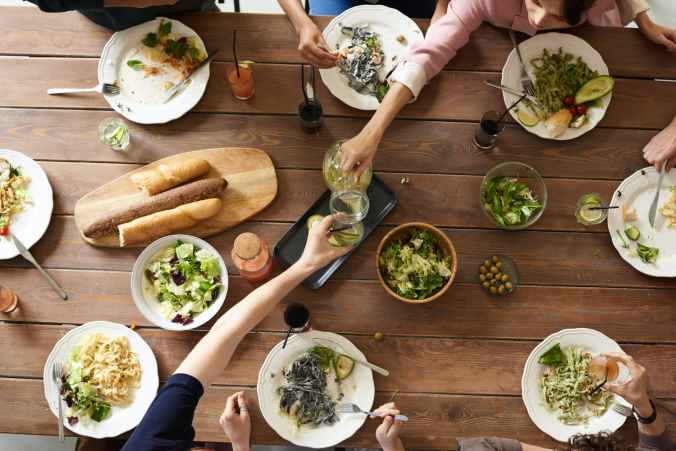 learn to cook and share with friends