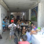 Tomaron un comedor infantil de Chacarita