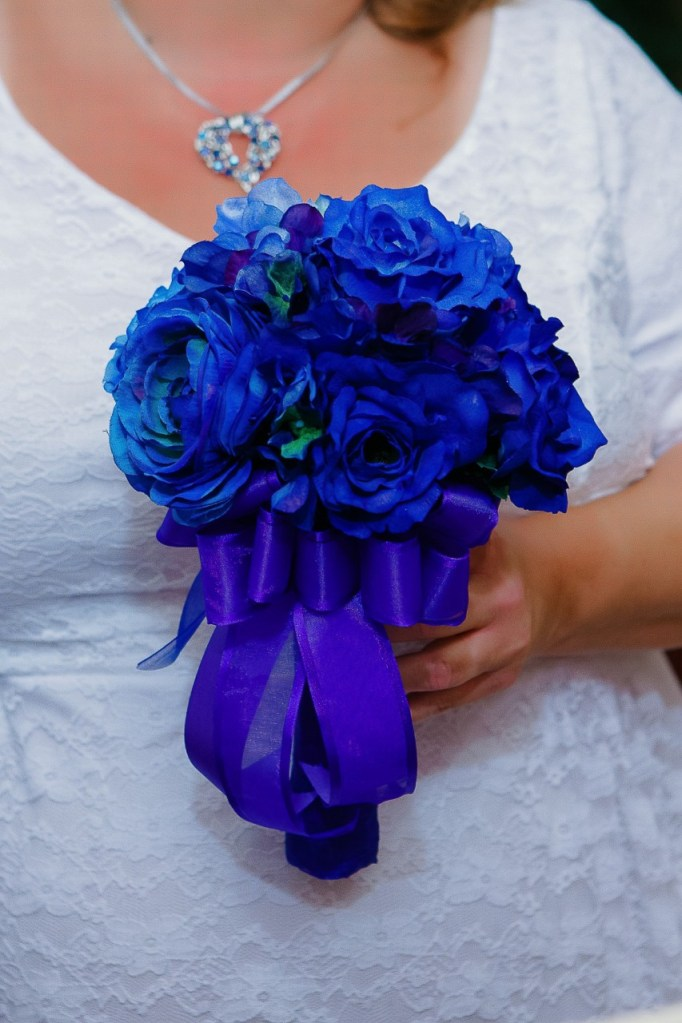 wedding florist arrangement