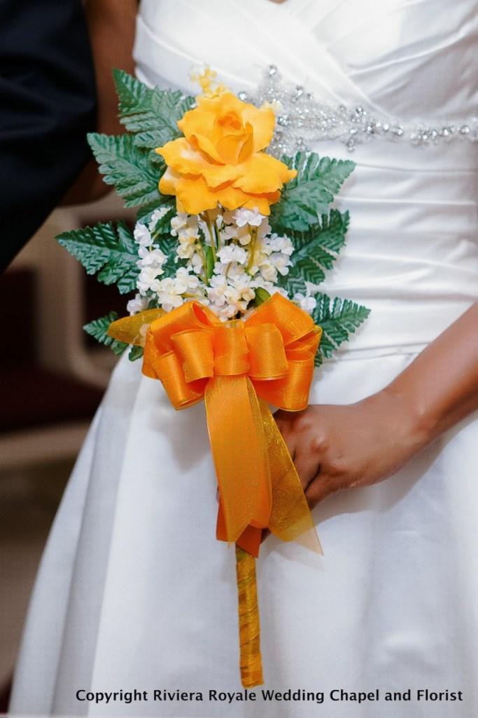 presentation wedding flowers
