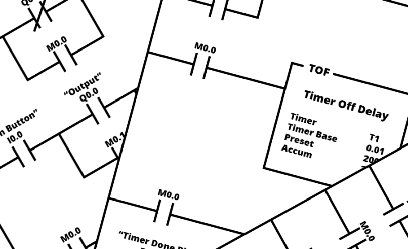 Plc ladder logic diagram for traffic light pdf lightneasy ladder logic examples and plc programming ccuart Choice Image