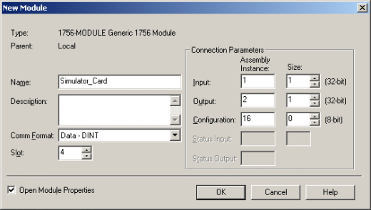 RSEmulator 12 Setup Simulator Card Setup 1