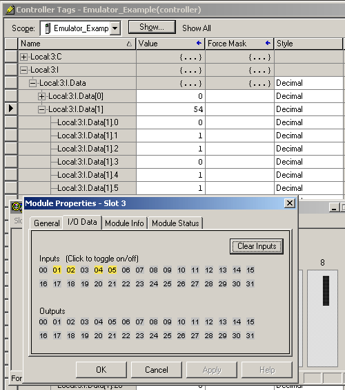 RSEmulator 15 Simulating