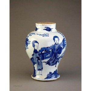 Kangxi Cobalt vase