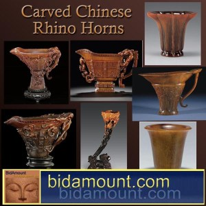 Rhino Horn carvings