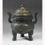 Late ming large incense burner