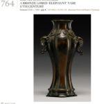 Kangxi bronze vase