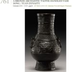 Song to Yuan bronze vase