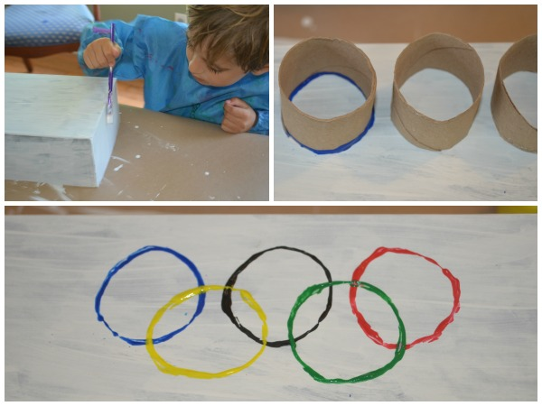 Celebrate the Olympics with a flag festival {+free flag template!}