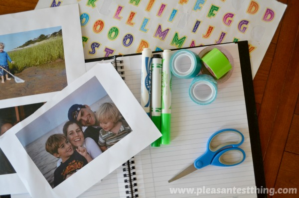 create a family journal