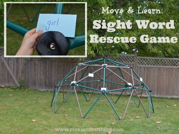 Sight Word Rescue Game: Play to review your word lists.
