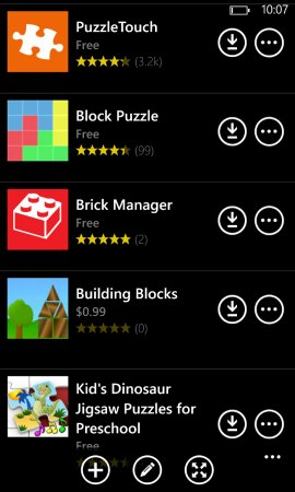 Puzzle and building apps on Nokia's App Social {sponsored}