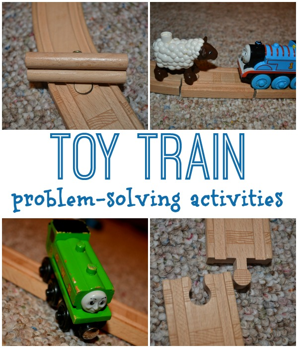 Toy Train problem-solving ideas