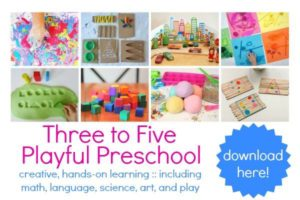 Playful Preschool e-book!