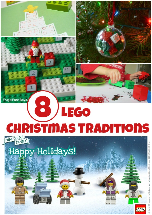 8 LEGO Christmas traditions to try this year!