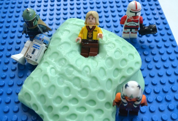 LEGO Star Wars putty - sensory activity for kids!