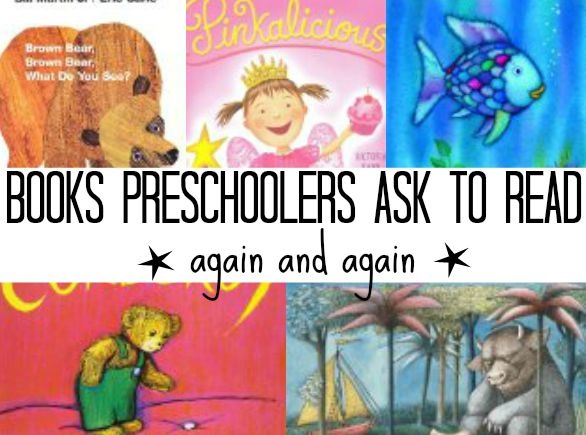Book list for preschoolers! Kids love these 11 classic books!