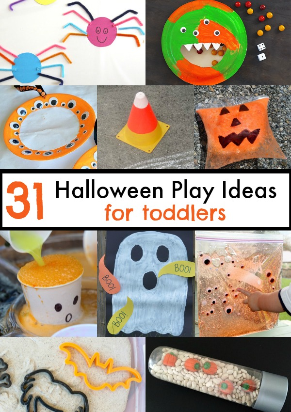31 Halloween Play ideas for toddlers!