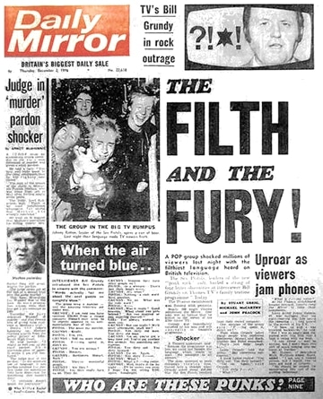 The Daily Mirror - The Filth & The Fury: The Sex Pistols