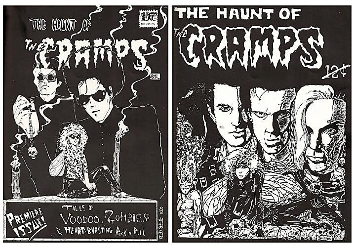 The Cramps comic books.
