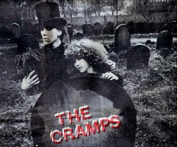 The Cramps in the graveyard photo.
