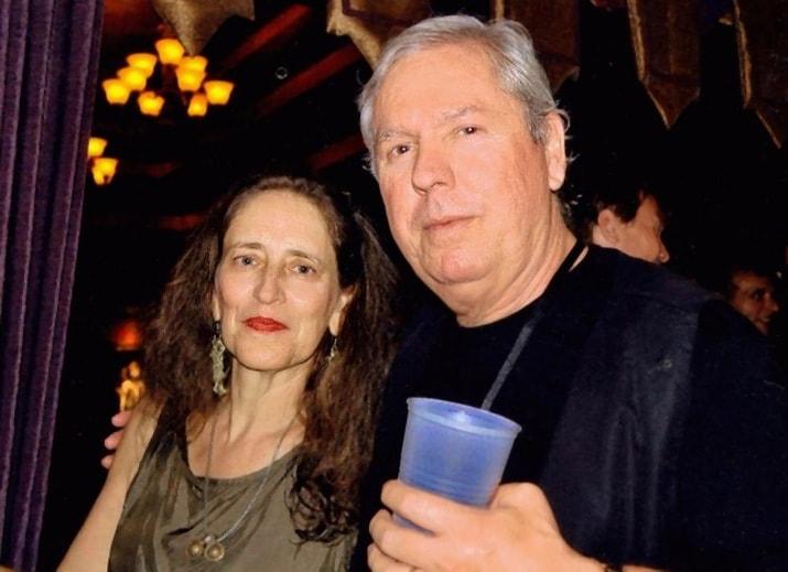 Maria Damon with James Williamson.
