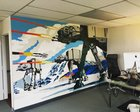 PLkIdNr5mW0uxIPsE33EtM5WHSsghA4r7cVzeUMB9g0 Finally finished our office mural. One day too late...