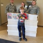 lj9fIxziUFXHWb1G9ZM1vIIzhlcKhi Pda5SI99OUr8 10 year old boy donates 3,000 comics to deployed soldiers   gets a day he wont forget in return
