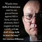 swQbUpSuC6sg0l7xVHd0802 y5WXcAmOBW5Xg4i2oI8 62% of Americans want to use ground forces against ISIS