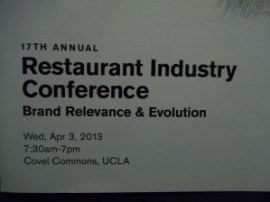 17th Annual Restaurant Industry Conference